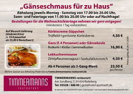 TIMMERMANNS TO GO!